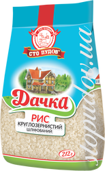 "Round-grained white rice ""Dachka"""