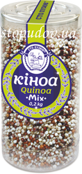 Mix of quinoa
